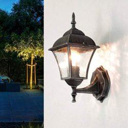 iluminaciones para jardín rustico