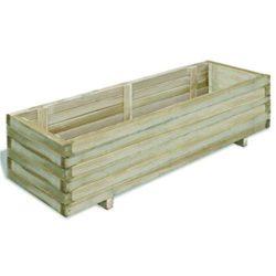 maceteros de madera para exterior